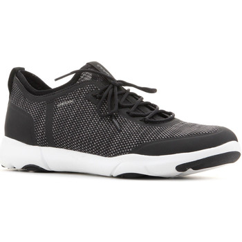 Shoes Men Low top trainers Geox U Nebula X A U826BA 0006K C9999 black