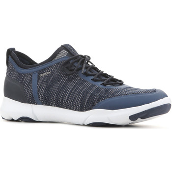 Shoes Men Low top trainers Geox U Nebula X A U826BA 0006K C4000 granatowy