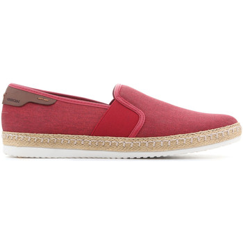 Shoes Men Slip-ons Geox U Copacabana B U82B7B 000NB C7000 red