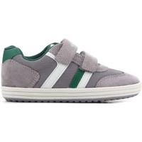 Shoes Children Sandals Geox J Vita B J82A4B 01422 C0875 grey, green, white