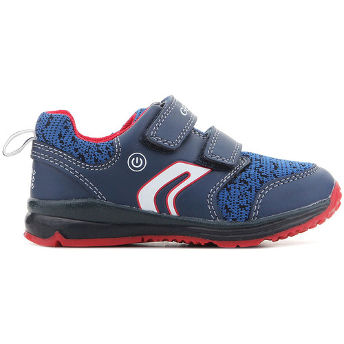 Shoes Boy Low top trainers Geox B Todo B.C B8284C 011BC C0735 navy