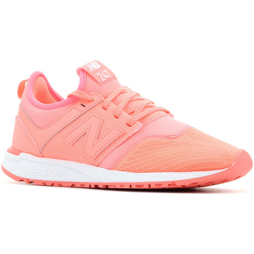 Shoes Women Low top trainers New Balance WRL247SW orange