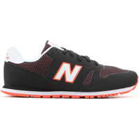 Shoes Children Low top trainers New Balance KD373BOY black, white