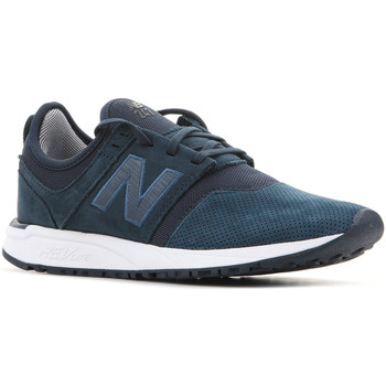 Shoes Women Low top trainers New Balance WRL247WP navy