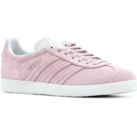 Shoes Women Low top trainers adidas Originals Adidas Gazelle Stitch and Turn W BB6708 pink