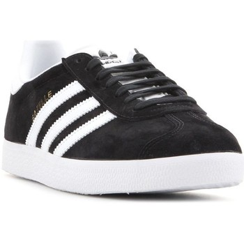 Shoes Men Low top trainers adidas Originals Adidas Gazelle BB5476 black, white