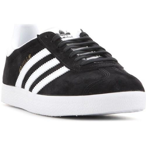 Shoes Men Low top trainers adidas Originals Adidas Gazelle BB5476 white, black