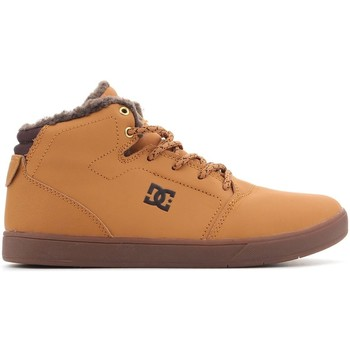 Shoes Men Hi top trainers DC Shoes DC CRISIS WNT ADBS100116 WD4 brown