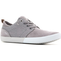 Shoes Men Low top trainers Geox U Smart B Suede+Wash.Canvas U82X2B 022NB C9007 grey
