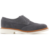 Shoes Men Derby Shoes Geox Damocle Print Suede U820SB 0BS22 C9002 grey