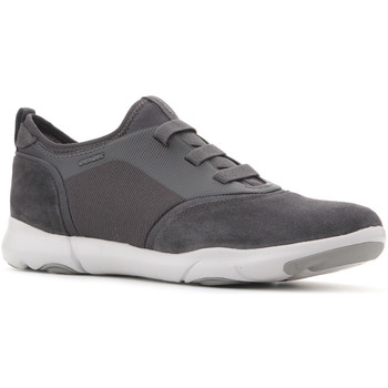 Shoes Men Low top trainers Geox U Nebula SA U825AA 02211 C9002 grey