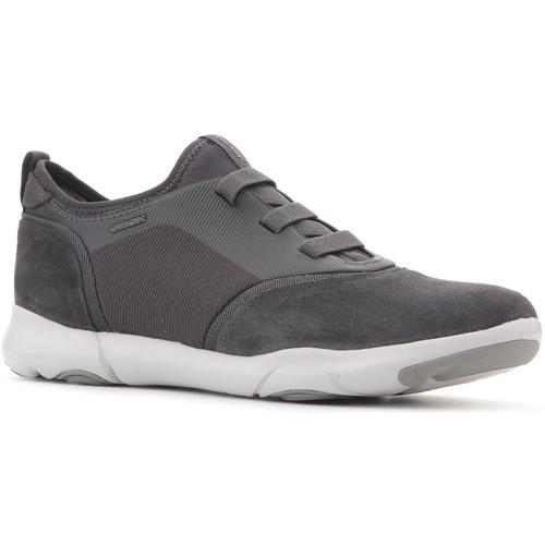 Shoes Men Low top trainers Geox U Nebula SA U825AA 02211 C9002 grey