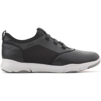 Shoes Men Low top trainers Geox U Nebula S B U825AB 08511 C9999 black