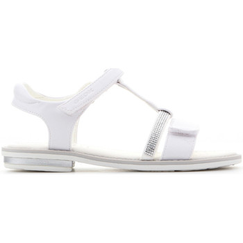 Shoes Girl Sandals Geox Giglio J82E2B 000BC C1000 white