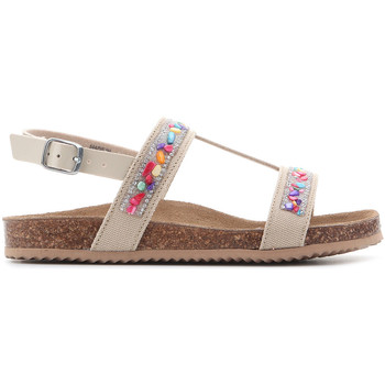 Shoes Girl Sandals Geox Aloha J821CB 01002 C5000 brown