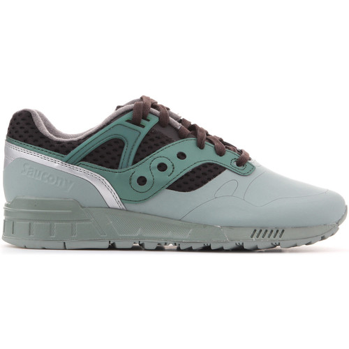Shoes Men Low top trainers Saucony Grid S70388-2 green