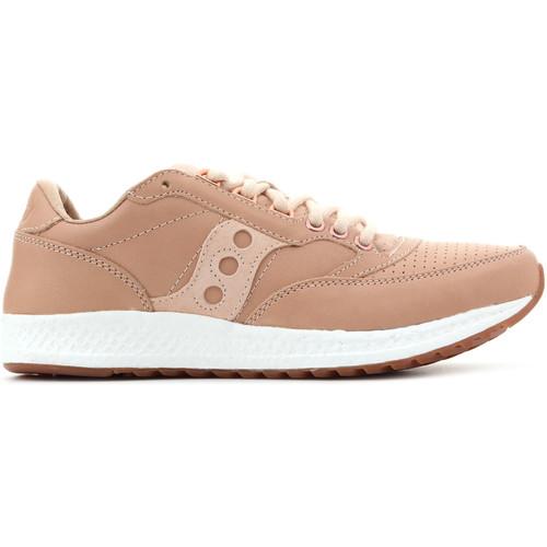Shoes Men Low top trainers Saucony Freedom Runner S70394-3 beige