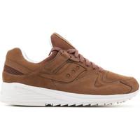 Shoes Men Low top trainers Saucony Grid 8500 HT S70390-2 brown