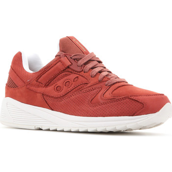Shoes Men Low top trainers Saucony Grid 8500 HT S70390-1 red