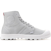 Shoes Women Hi top trainers Palladium Mid LP Perf 95756-073-M grey