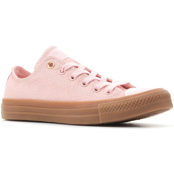 Shoes Women Low top trainers Converse Ctas OX 157297C pink
