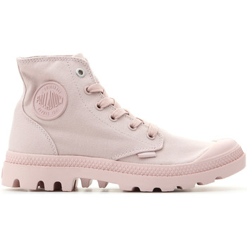 Shoes Women Hi top trainers Palladium Pampa Hi Mono 73089-638-M pink