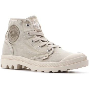 Shoes Women Hi top trainers Palladium Pampa Hi 92352-238-M beige
