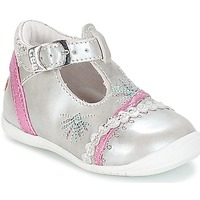Shoes Girl Flat shoes GBB MARINA Vte / Silver / Kezia