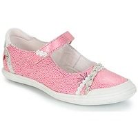 Shoes Girl Flat shoes GBB MARION Vte / Pink-white
