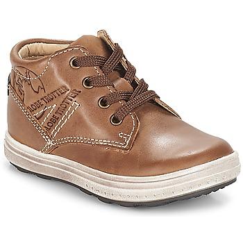 Shoes Boy Hi top trainers GBB NINO Vte / Brown / Gomez