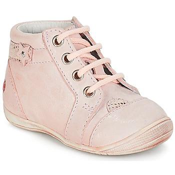 Shoes Girl Mid boots GBB PRIMROSE Vte / Pink / Skin / Kezia