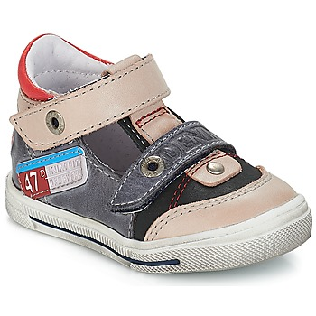 Shoes Boy Sandals GBB PEPINO Vte / Gray-jean / Snow
