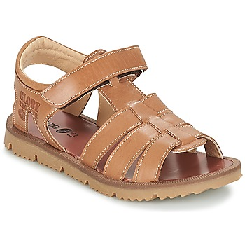 Shoes Boy Sandals GBB PATHE Vte / Brown / Lisbonna