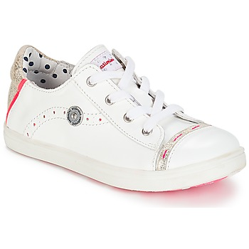 Shoes Girl Low top trainers Catimini PANDA Vte / White / Venus