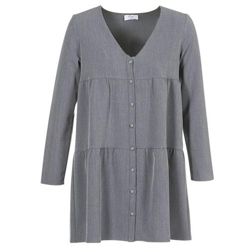 Clothing Women Short Dresses Betty London JOGURET Grey
