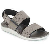 Shoes Women Sandals Clarks Garratt Active Grey / Nubuck
