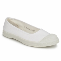 Shoes Women Flat shoes Bensimon BALLERINE White