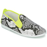 Shoes Women Slip-ons Flossy BAZA Neon / Yellow