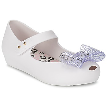 Shoes Girl Flat shoes Melissa MINI ULTRAGIRL MINNIE MOUSE White