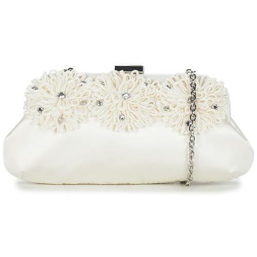Bags Women Evening clutches Menbur IRIA CLUTCH Ivory