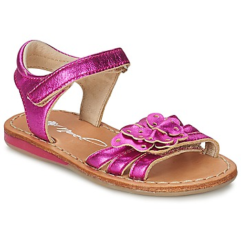 Shoes Girl Sandals Noel SAXO Fuschia
