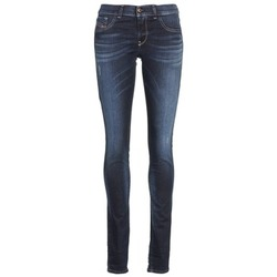 Clothing Women slim jeans Diesel LIVIER Blue / Dark