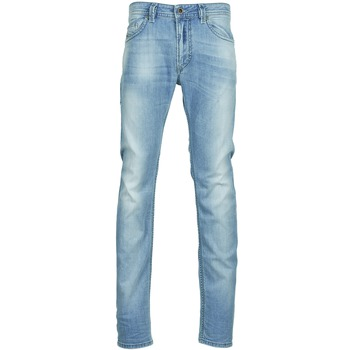 Clothing Men slim jeans Diesel THAVAR Blue / Clear