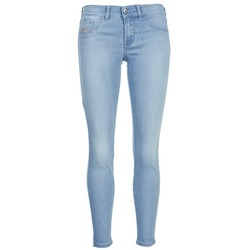 Clothing Women slim jeans Diesel LIVIER ANKLE Blue / Clear