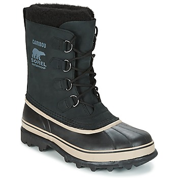 Shoes Men Snow boots Sorel CARIBOU Black