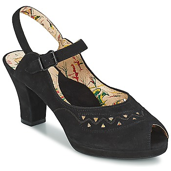 Shoes Women Sandals Miss L'Fire BETTINE Black