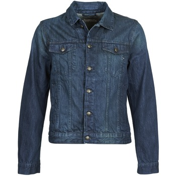 Clothing Men Denim jackets Chevignon BREWA DENIM Blue