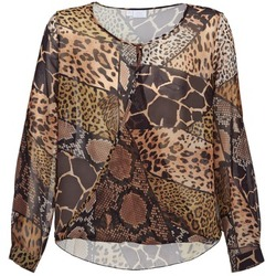 Clothing Women Tops / Blouses Alba Moda ANINA Brown