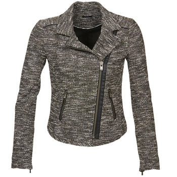 Clothing Women Jackets / Blazers Ikks VERMILLION Black