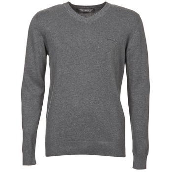 Clothing Men jumpers Teddy Smith PULSER Grey